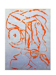 Pierre Alechinsky - Composition - Original Lithograph