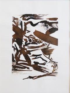 Samuel Latour - Paysage en Mouvement n°2 - Original Drawing