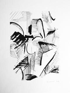 Samuel Latour - Masses et détails n°4 - Original Drawing