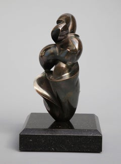 Pollès - Bronze Sculpture - Chrysolithe