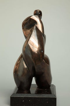Pollès - Unique Bronze Sculpture - Abysse