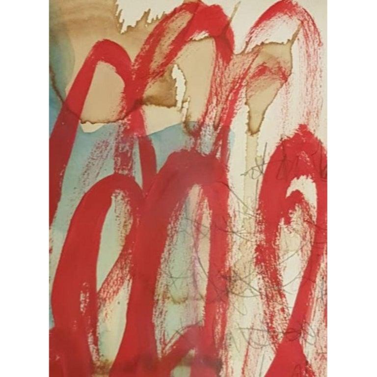 Kyte Tatt - Original Painting - Modern Mixed Media Art by Kyte Tatt
