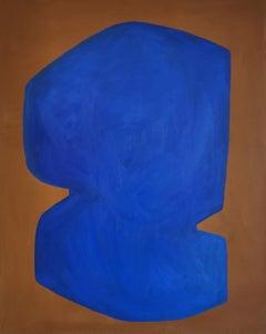 Virginie Hucher - Eclipse Bleue - Original Painting