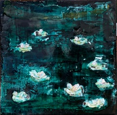 Charly Bounan - Nympheas - Original Painting