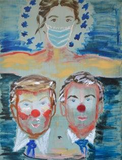 Deborah Gad - Les Saints d'aujourd'hui - Original Painting
