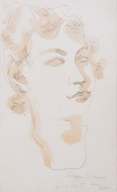 Untitled (Portrait or Study for a Bust)