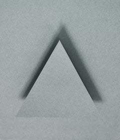 Geometry, triangle, shape, relief, gray