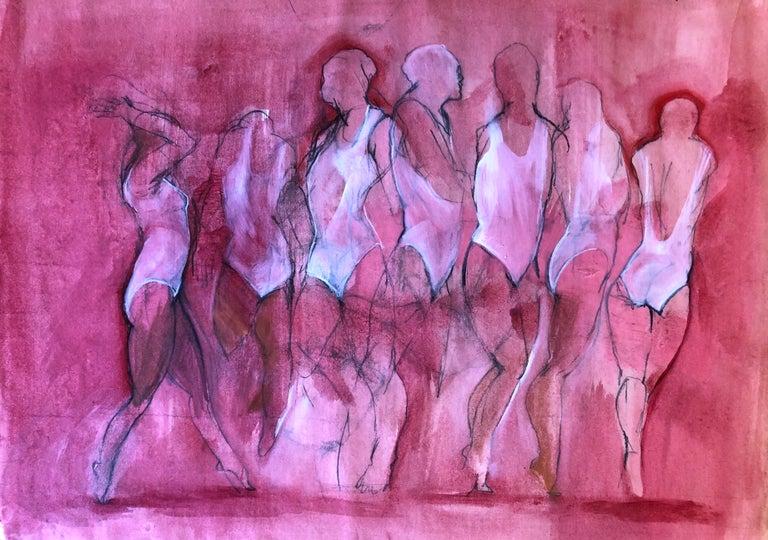 Silvina Mamani Figurative Painting - Melodia