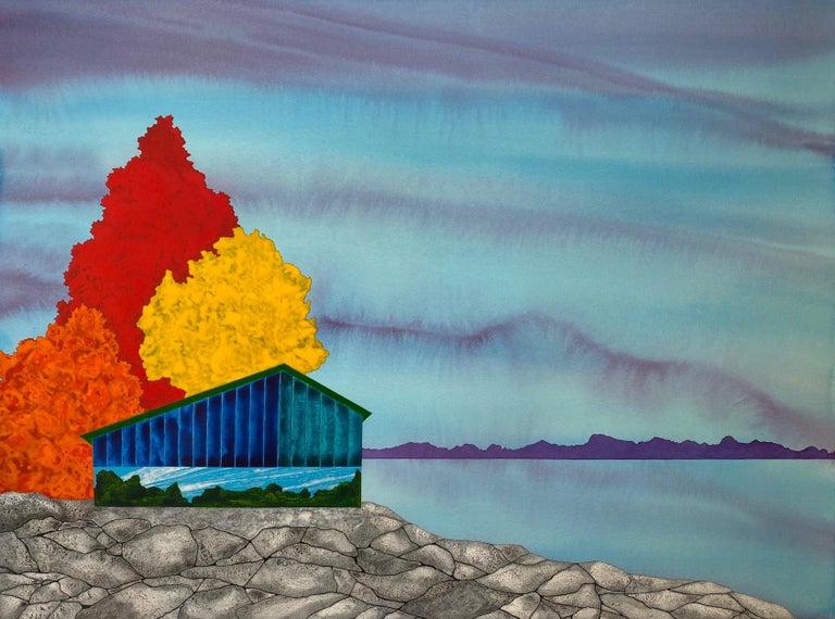 James Isherwood Landscape Art - Isle