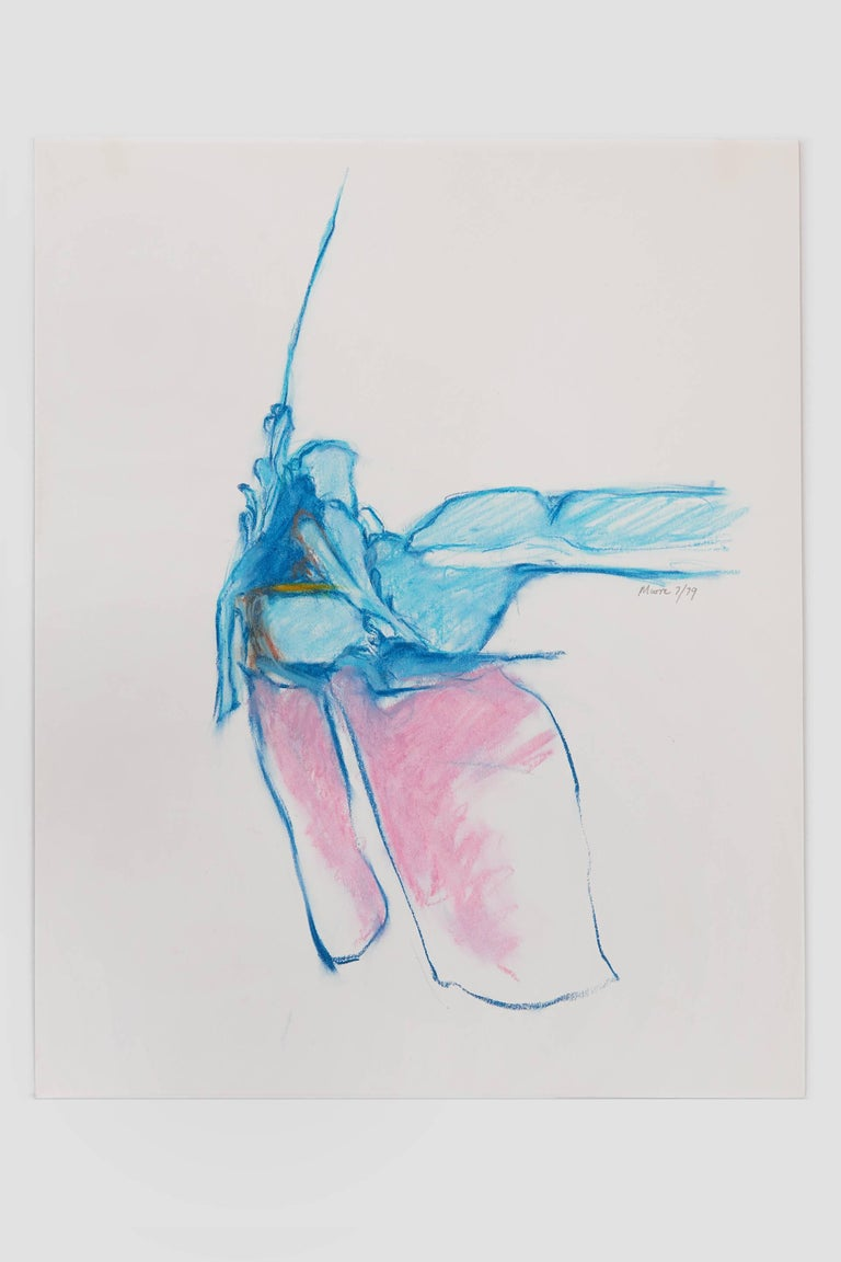 Untitled II (blue pink) - Art by James Moore