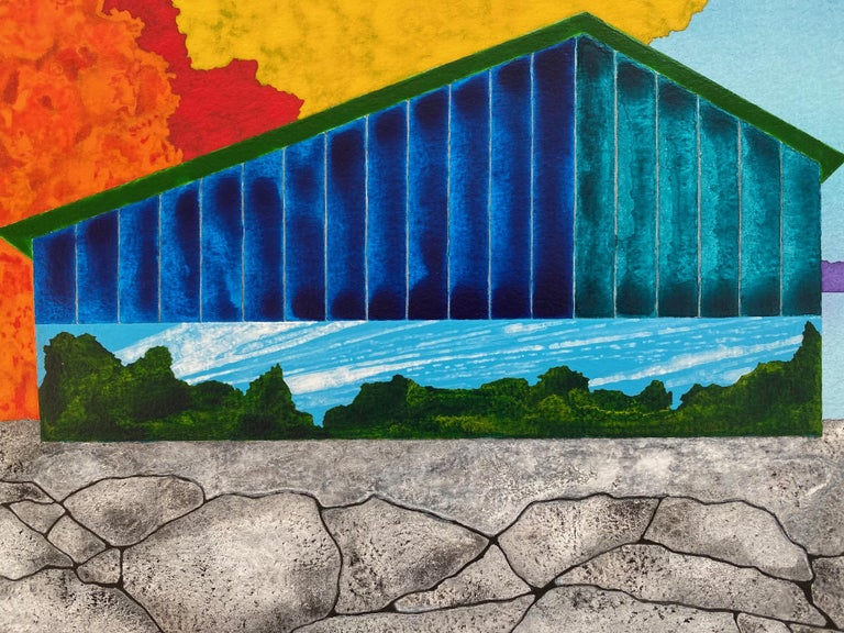 Isle - Contemporary Art by James Isherwood