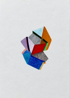 Untitled, Small Works No. 29, geometric abstraction, work on paper