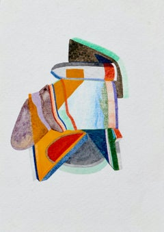 Untitled, Small Works No. 26, geometric abstraction, work on paper