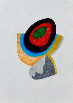 And do you not remember?, geometric abstraction, work on paper