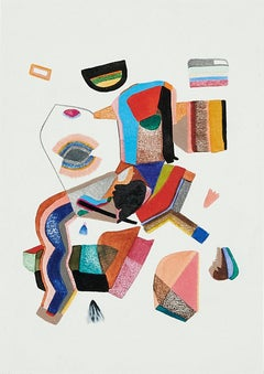 Untitled, Small Collection No. 1, geometric abstract work on paper