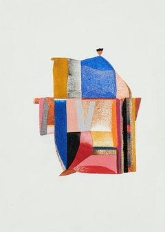 Untitled, Small Works No. 105, geometric abstraction, work on paper