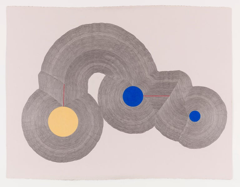 Matthew Pendleton Abstract Drawing - Trinity
