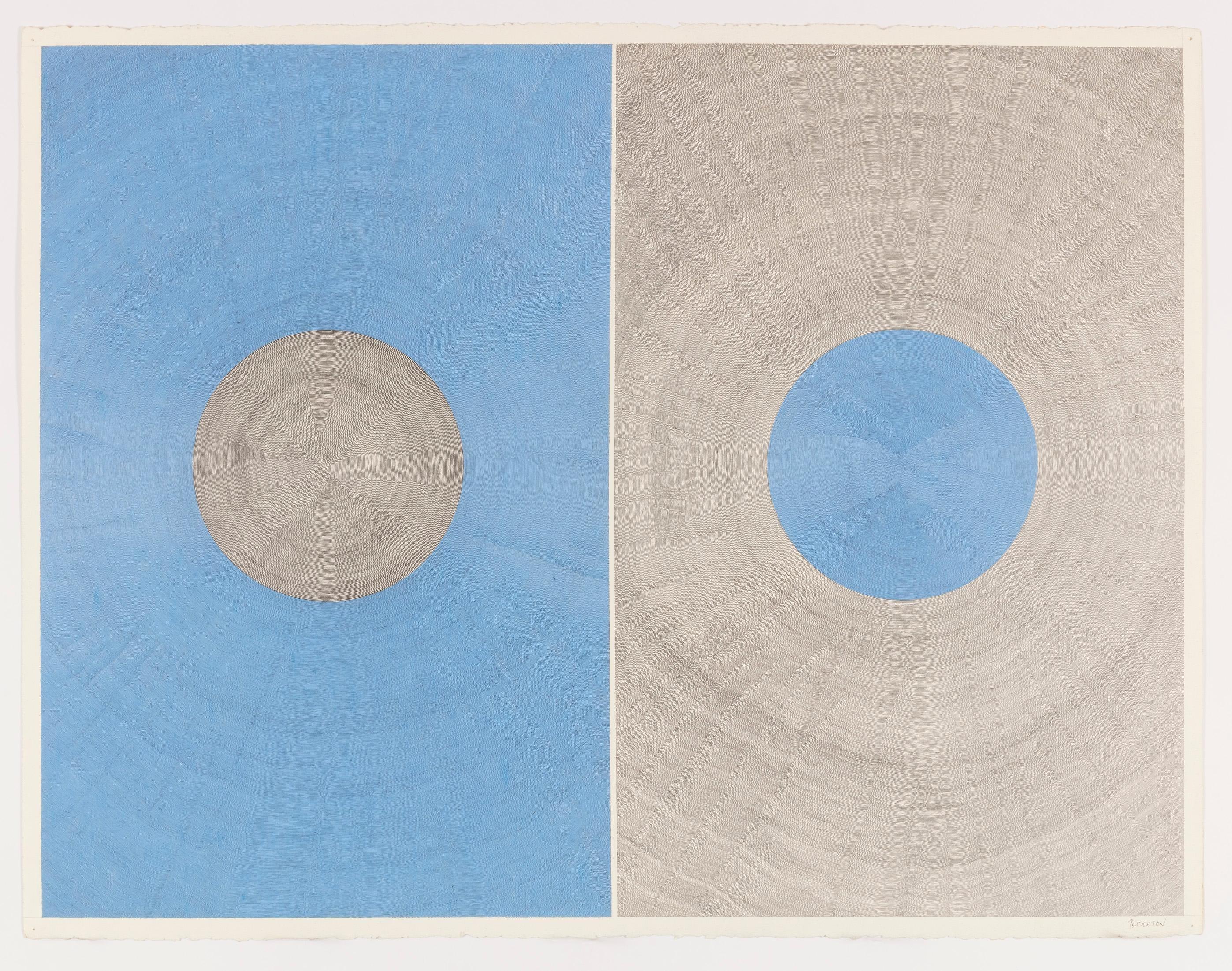 Untitled (Blue/Gray)