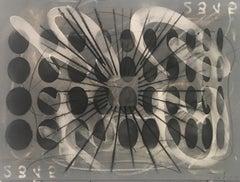 Carol Diehl, Albia III, 2011, powder pastel on Masonite, 9 x 12 inches, Abstract