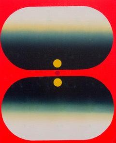 Tom Martinelli, Yep (Eye-Mind No. 0717), 2017, acrylic, canvas, 22 x 18 inches