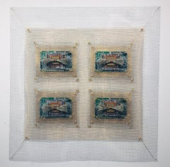 Anne Marie Kenny, Integrated Circuits II 4 Square Industrial Quilt, 2019
