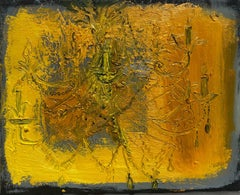 Lizbeth Mitty, Sunday, 2019, oil on canvas, 6 x 8 inches, Symbolist
