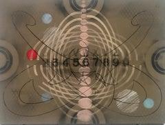 Carol Diehl, Aharon, 2011, powder pastel on Masonite, 9 x 12 inches, Abstract