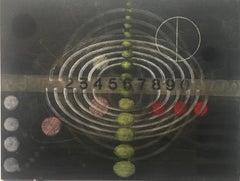 Carol Diehl, Aida, 2011, powder pastel on Masonite, 9 x 12 inches, Abstract