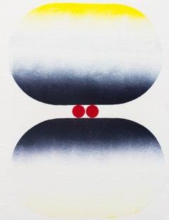 Tom Martinelli, Eye-Mind No. 1218, 2018, acrylic, canvas, 17.75 x 13.5 inches