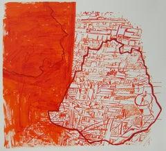 Josette Urso, On Spot, 2019, Ink Brush Drawing, 12 x 13 in