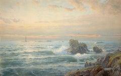 Rocky Coast with Lighthouse