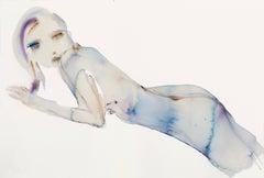 Blue Reclining - Small