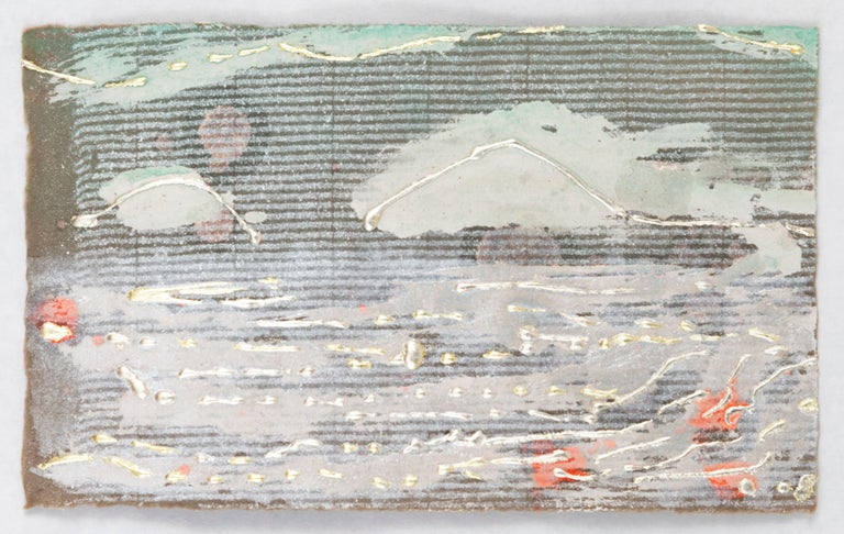 Nancy Lorenz Abstract Drawing - View from the Cottage