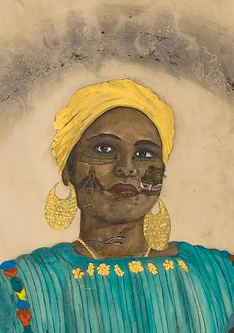 Duchess of Guatemala - Art by Umar Rashid (Frohawk Two Feathers)