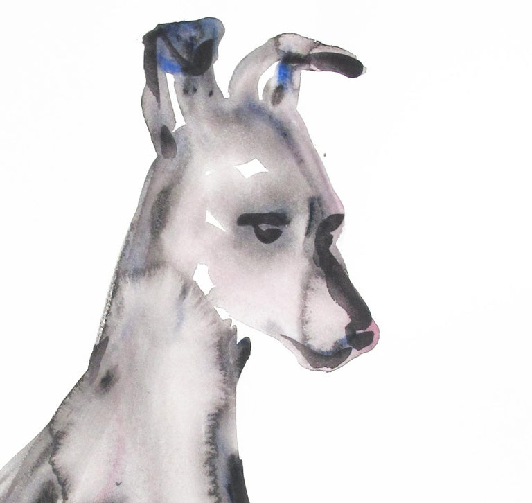 Untitled (Dog Sitting Looking Down) For Sale 1