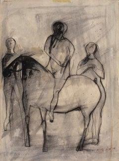 Jugglers and Horse  Giocolieri e Cavallo