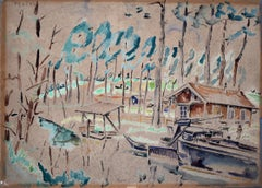 The Cabin by the Lake - Polish Art, Ecole de Paris