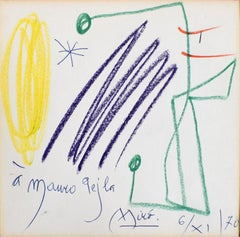 Untitled (Mauro Pejla)  Sans titre - Spanish Art, Dedicated Drawing