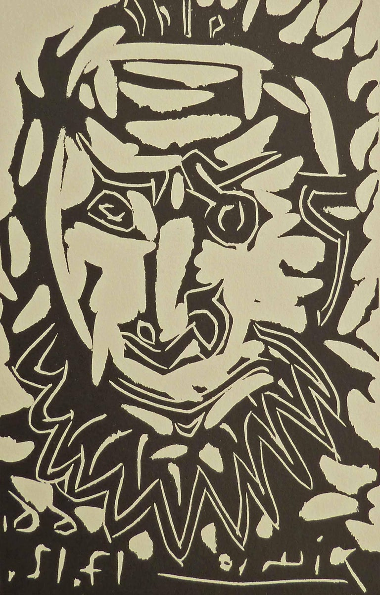 Greeting Card for Madoura Gallery, - Art by Pablo Picasso