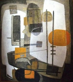 Abstract Composition - Yugoslavian French Abstract