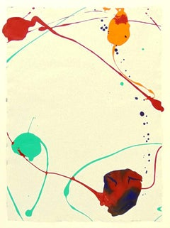 Untitled SF87-071 - Acrylic American Abstract Expressionism