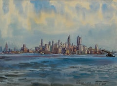 New York from Bedloe's Island