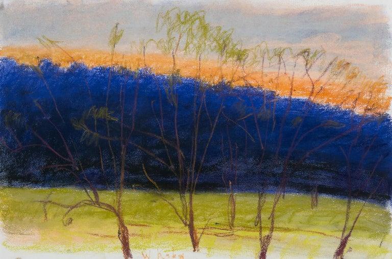 Wolf Kahn Landscape Art - Evening Breeze