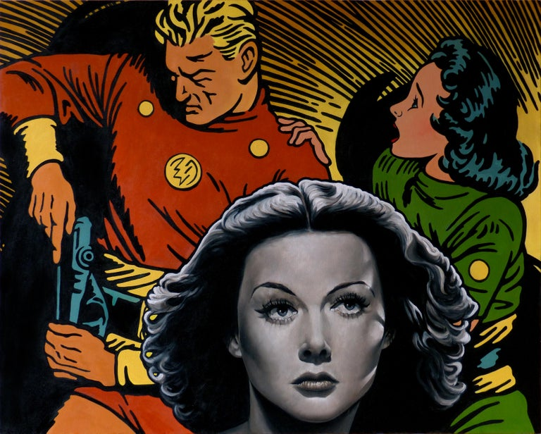 The Flash, Dale, and Hedy Lamarr