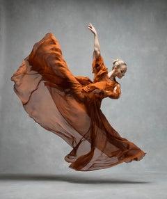 Charlotte Landreau (rust colored dress)