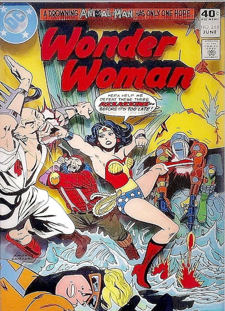 Wonder Woman, Volume 1, #268 - Art by Michael Suchta