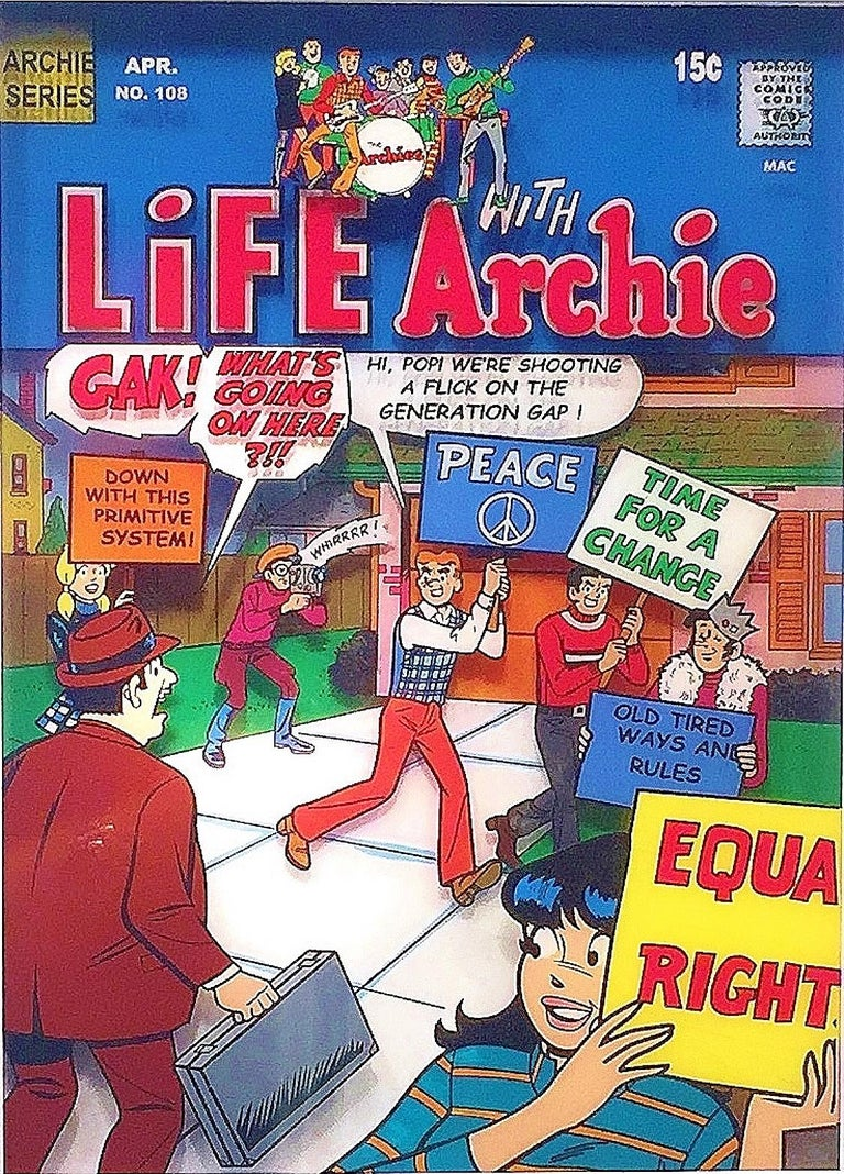 Life with Archie, Volume 1, #178, 1971 - Art by Michael Suchta