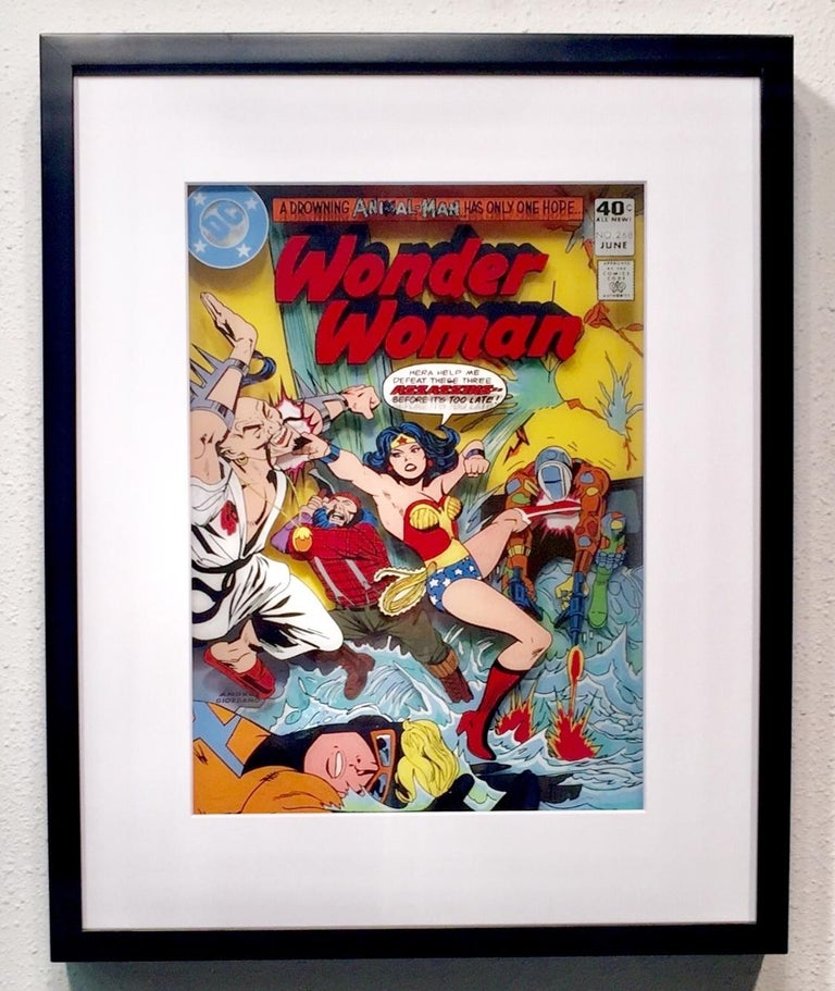 Wonder Woman, Volume 1, #268 - Pop Art Art by Michael Suchta