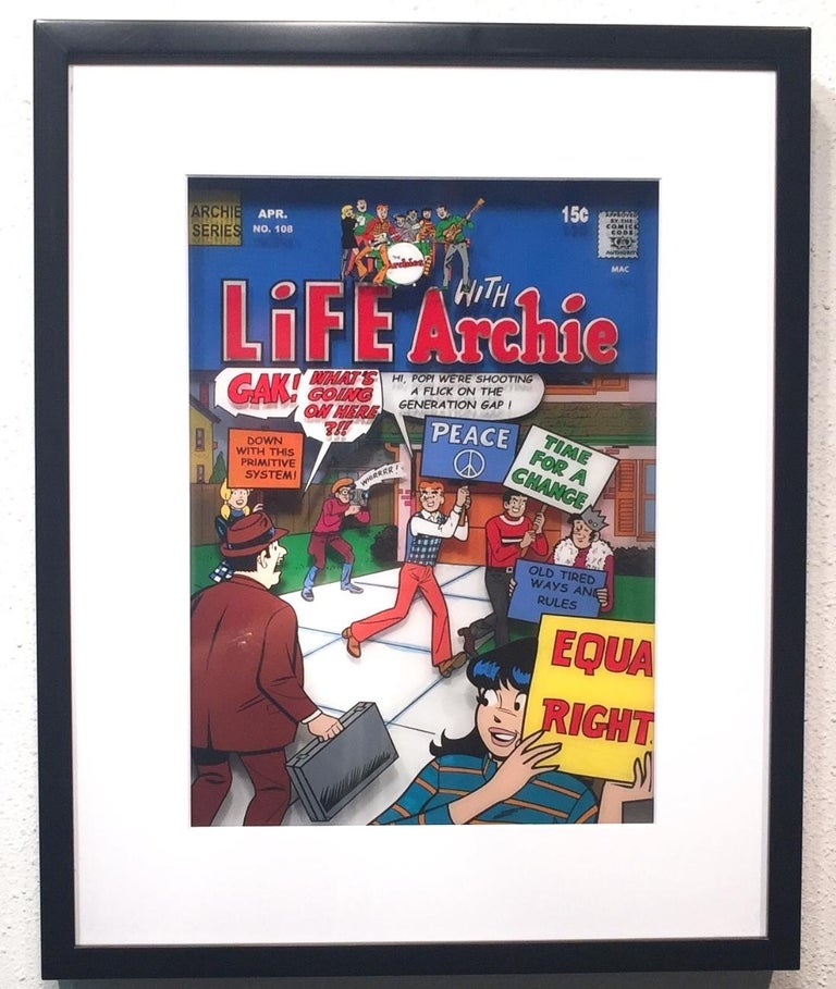 Life with Archie, Volume 1, #178, 1971 - Pop Art Art by Michael Suchta