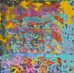 """Glyph"", Street Art Painting"